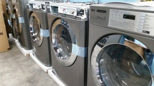 laundromat washing machine install